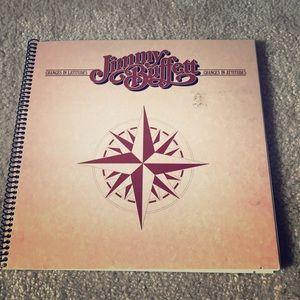 Jimmy Buffett Changes in Latitudes album notebook